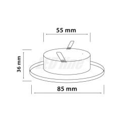 BASE MOTORE ROBUS600/1000 VERNICIATA RB1000 RB1000R10 RB1000V1 RB600 RB600P RB600R10
