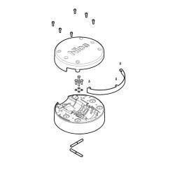 STRIP LED 130W 24V IP20 3000K